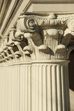 Columnas del Corinthian Imagen de archivo libre de regalías