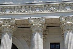 Columnas del estilo del Corinthian Imagen de archivo