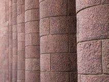 Columnas del granito Fotos de archivo libres de regalías