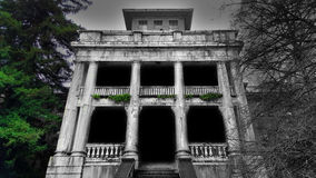 Columnas del misterio Foto de archivo libre de regalías