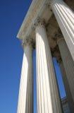 Columnas del Tribunal Supremo Imagenes de archivo
