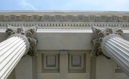 Columnas dobles Imágenes de archivo libres de regalías