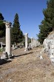 Columnas en el ágora de Tetragonos Fotografía de archivo libre de regalías