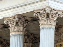 Columnas en el parlamento en Viena Imagen de archivo libre de regalías