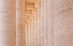 Columnas en St Peters Square Foto de archivo