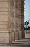 Columnas en Trieste Fotos de archivo libres de regalías