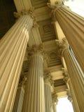 Columnas en Washington DC Fotos de archivo libres de regalías