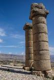 Columnas funerarias en Karakus Imagenes de archivo