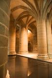 Columnas grandes de St. Miguel de Mont Imagenes de archivo