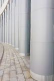 Columnas grandes del metal Imágenes de archivo libres de regalías