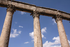 Columnas griegas Imagenes de archivo