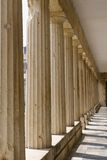 Columnas griegas Fotos de archivo