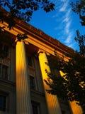 Columnas griegas de lujo Fotos de archivo libres de regalías