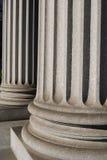 Columnas iónicas Imagen de archivo