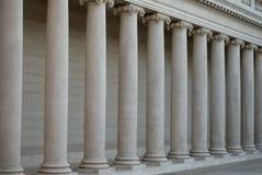 Columnas iónicas Fotografía de archivo libre de regalías