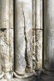 Columnas - iglesia de Santo Sepulcro Fotos de archivo libres de regalías