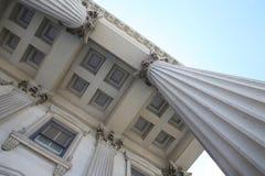 Columnas legales Imagen de archivo libre de regalías