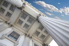 Columnas legales Foto de archivo libre de regalías