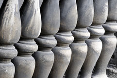 Columnas medievales Fotos de archivo libres de regalías