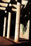 Columnas modernas Imágenes de archivo libres de regalías