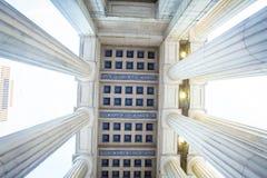 Columnas Nashville Tennessee foto de archivo libre de regalías