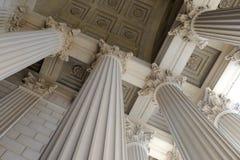 Columnas neoclásicas Fotos de archivo libres de regalías