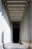 Columnas neoclásicas Imagen de archivo libre de regalías