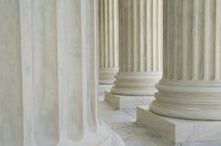Columnas neoclásicas Foto de archivo