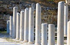 Columnas redondas fotos de archivo