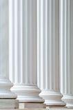 Columnas retroiluminadas Imagen de archivo