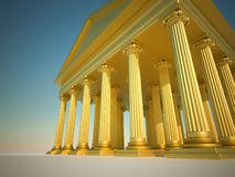 Columnas romanas libre illustration