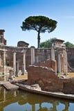 Columnas romanas Imagen de archivo