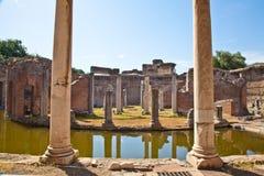 Columnas romanas Fotos de archivo