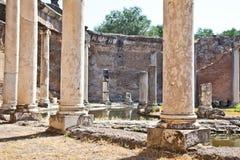 Columnas romanas Foto de archivo libre de regalías