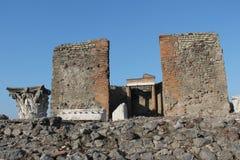 Columnas romanas Fotografía de archivo libre de regalías