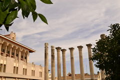 Columnas-romanas Lizenzfreie Stockfotografie