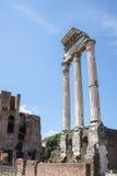 Columnas romanas del foro Imágenes de archivo libres de regalías