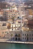 Columnas terminales del antiguo vía Appia que comienza en Roma Imagen de archivo
