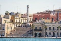 Columnas terminales del antiguo vía Appia que comienza en Roma Fotografía de archivo libre de regalías