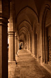 Columnas y arcos imagen de archivo libre de regalías