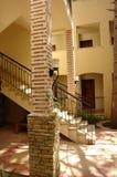 Columnas y lamps.tif Imagen de archivo