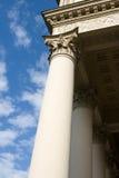 Columnas y nubes Fotografía de archivo libre de regalías