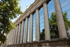 Columnas y reflexiones Fotografía de archivo libre de regalías