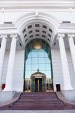 Columnas y techo Foto de archivo libre de regalías