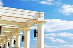 Columnas y vigas Imágenes de archivo libres de regalías