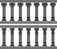 Columnata stock de ilustración