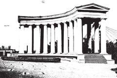 Columnata Foto de archivo libre de regalías