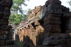 Columnata, Ankor Wat foto de archivo libre de regalías