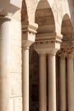 Columnata de la iglesia de la natividad imagen de archivo