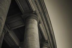 Columnata del ` s de San Pedro Fotografía de archivo